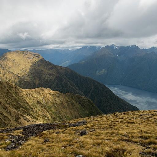 הנוף בפסגה לצד השני
