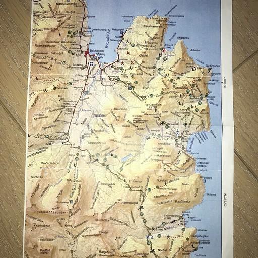 החלק הראשון של המפה