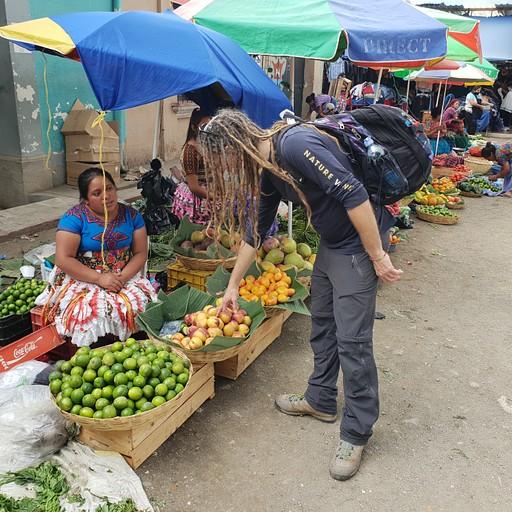 אנטיגואה השוק המרכזי
