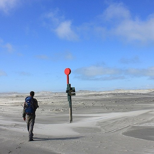 הליכה לאורך לשון היבשה פירוויל